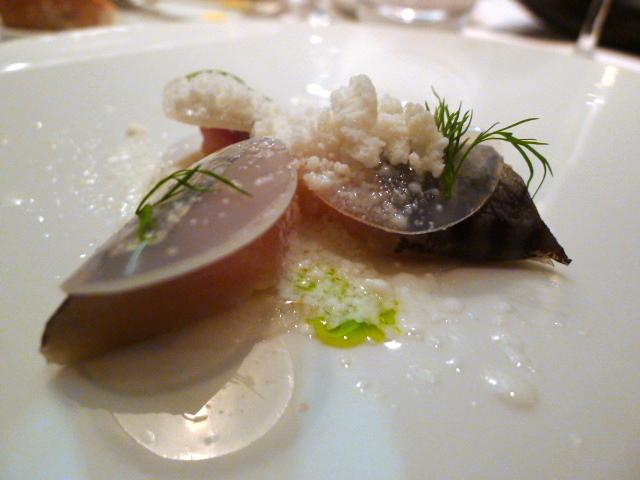 Apple cider marinated mackerel
