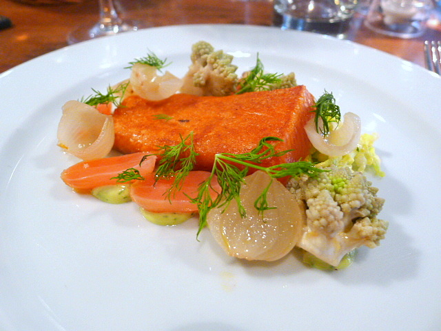 Cured sea trout