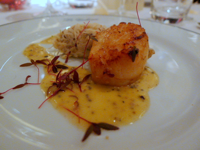 Hand-dived scallop