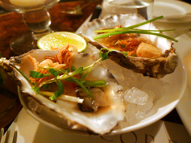 Vietnamese oysters
