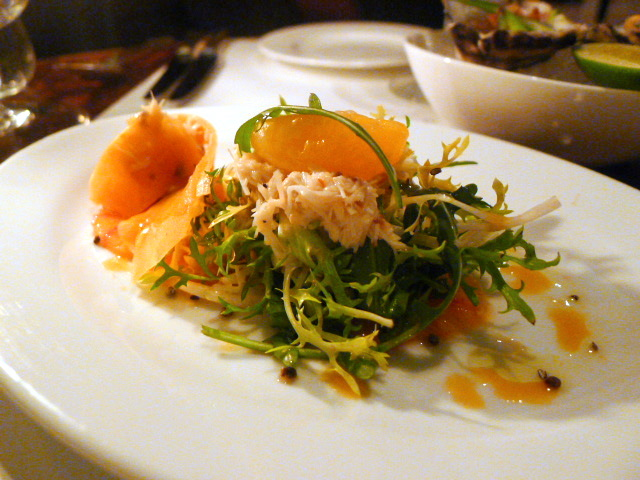 Cornish crab salad