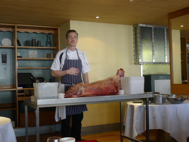 Chop House head chef Martin Kroon
