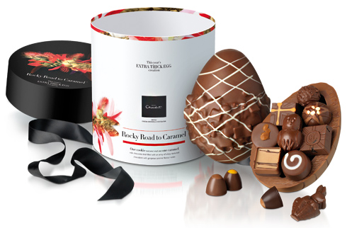 Rocky Road to Caramel Extra Thick Easter Egg