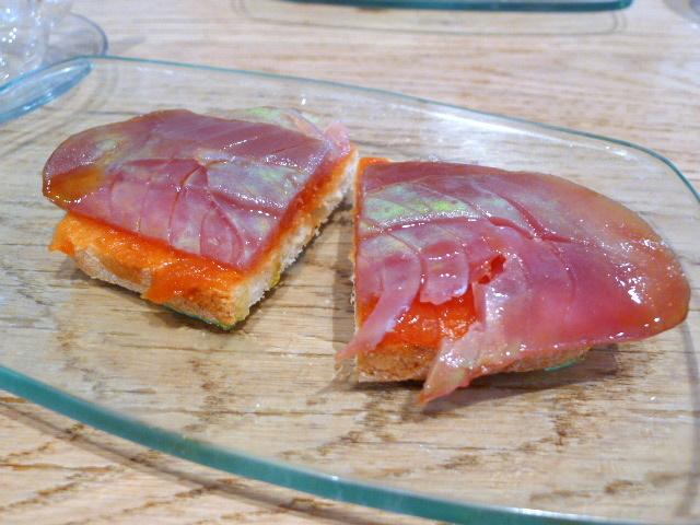 Tuna and tomato jam