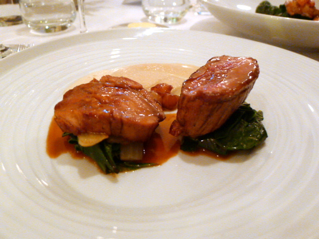 Veal belly & seared rump