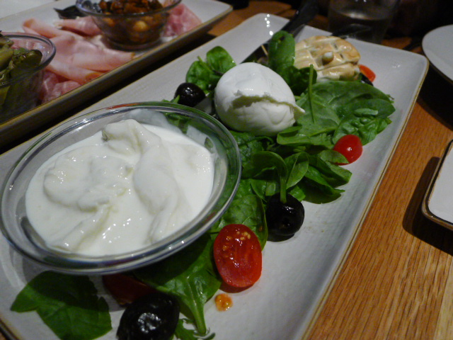 Mozzarella selection