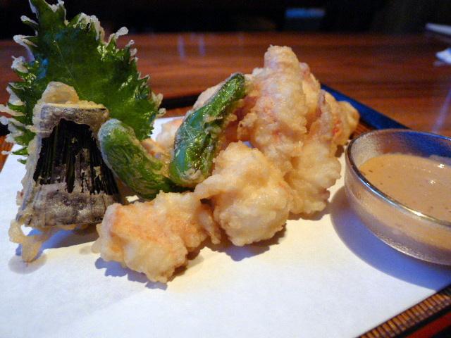 Wild lobster tempura