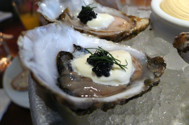Oysters & caviar