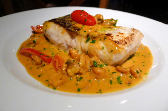 Hake & seafood bisque