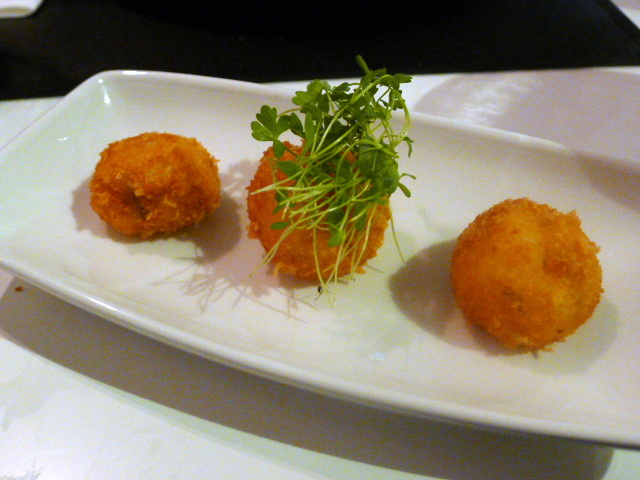 Croqueta with jamon