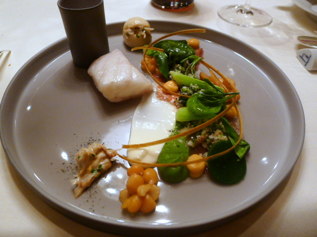 Turbot, sweet crab and North Sea shrimps
