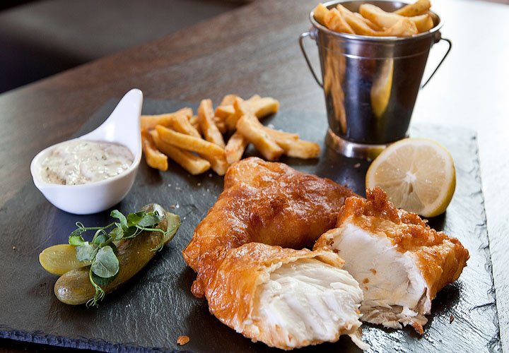Fish & chips - Caxton Grill
