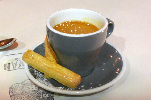 Butterscotch caramel pot