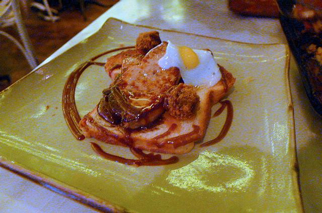 Foie gras 'all day breakfast'