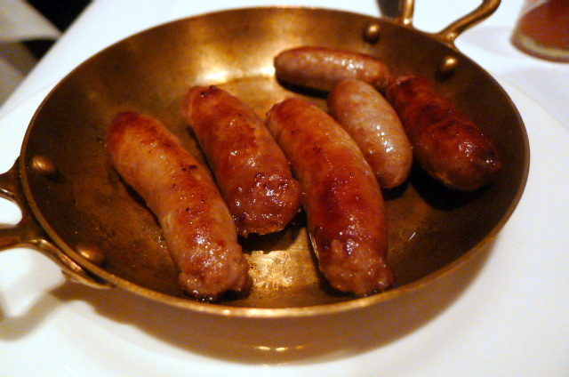 Wild boar sausages