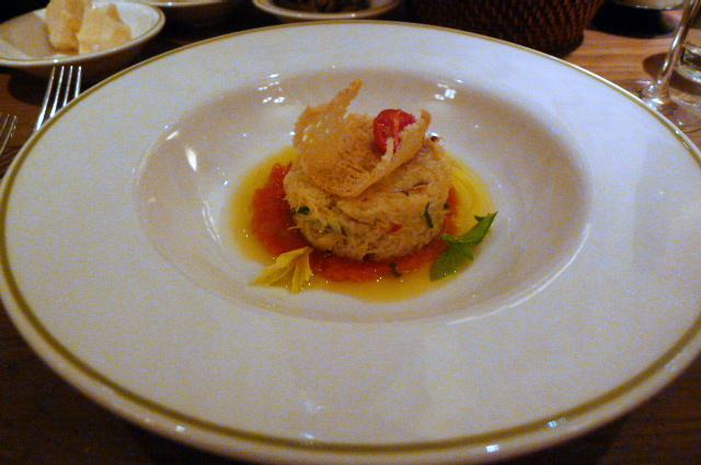 Crab salad