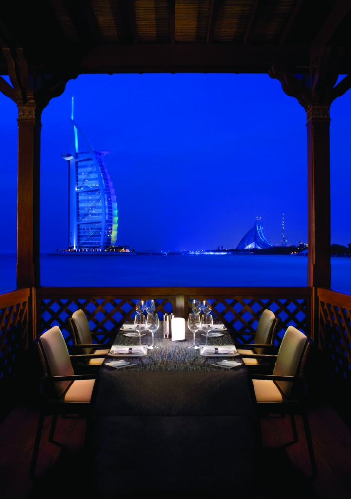 Pierchic and views of Burj Al Arab