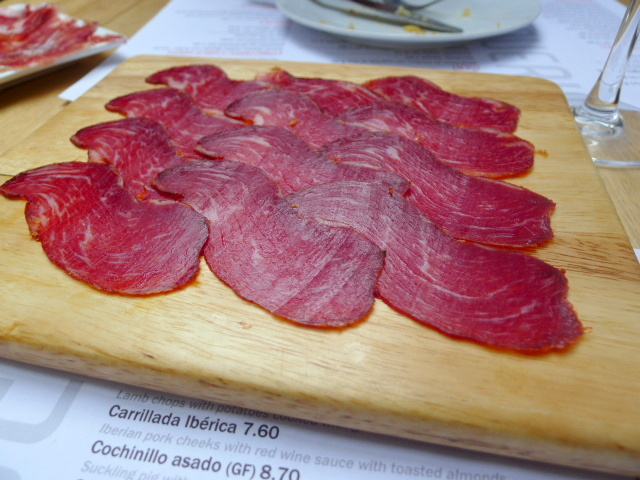 Acorn-fed Iberian pork loin