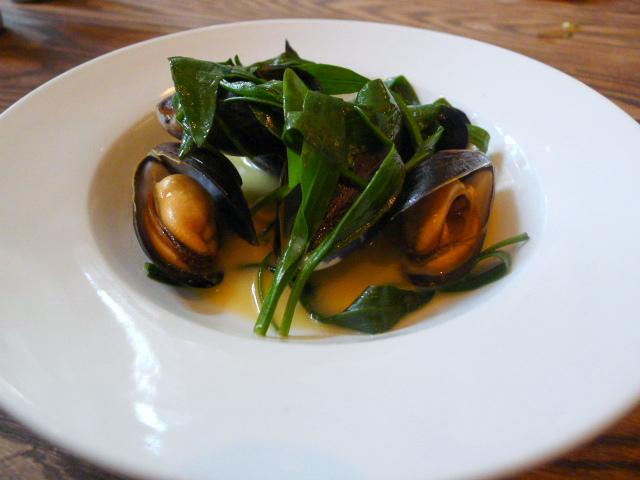 Shetland mussels
