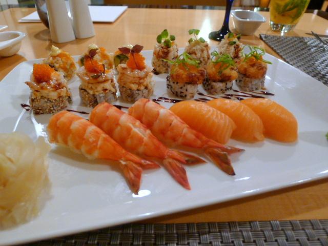 Maki rolls & sushi