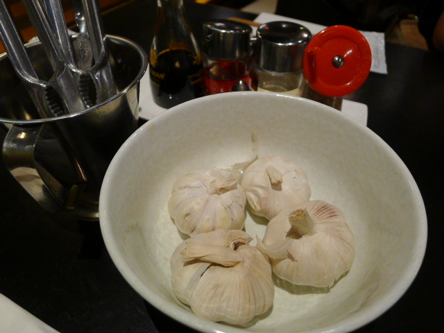 Garlic to flavour your broth