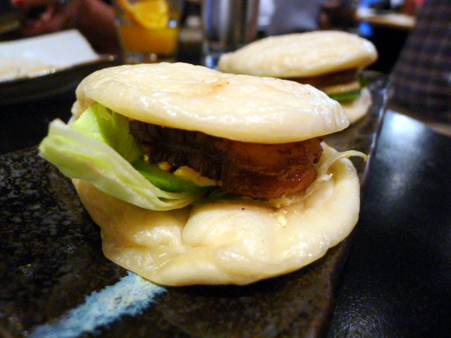 Hirata buns with pork belly