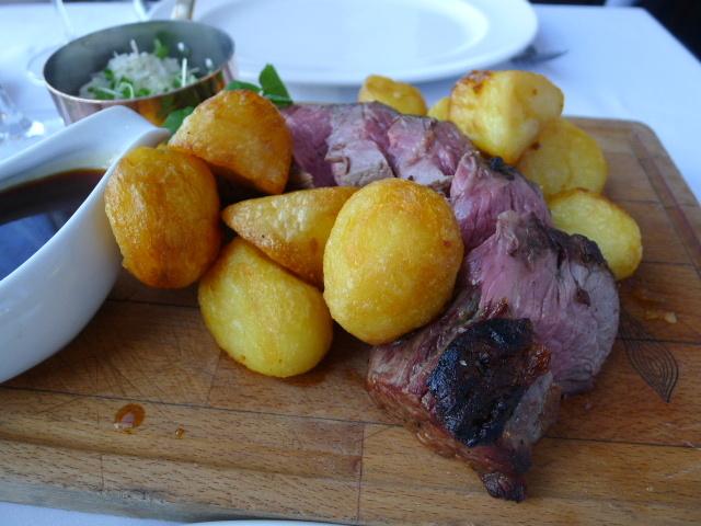 Roasted fillet of beef