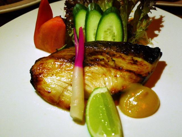 Miso black cod