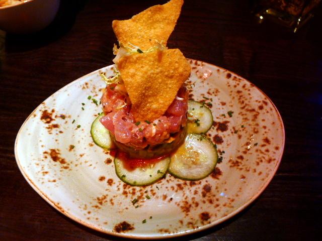 Spicy tuna tartare