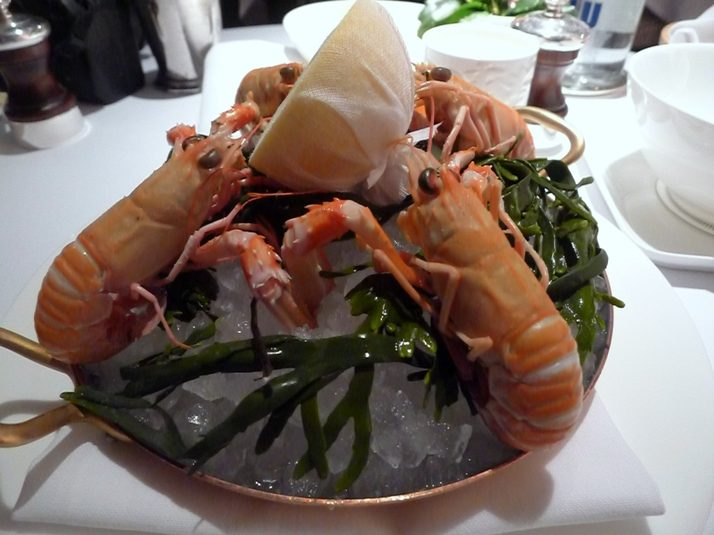 The langoustines at Angler