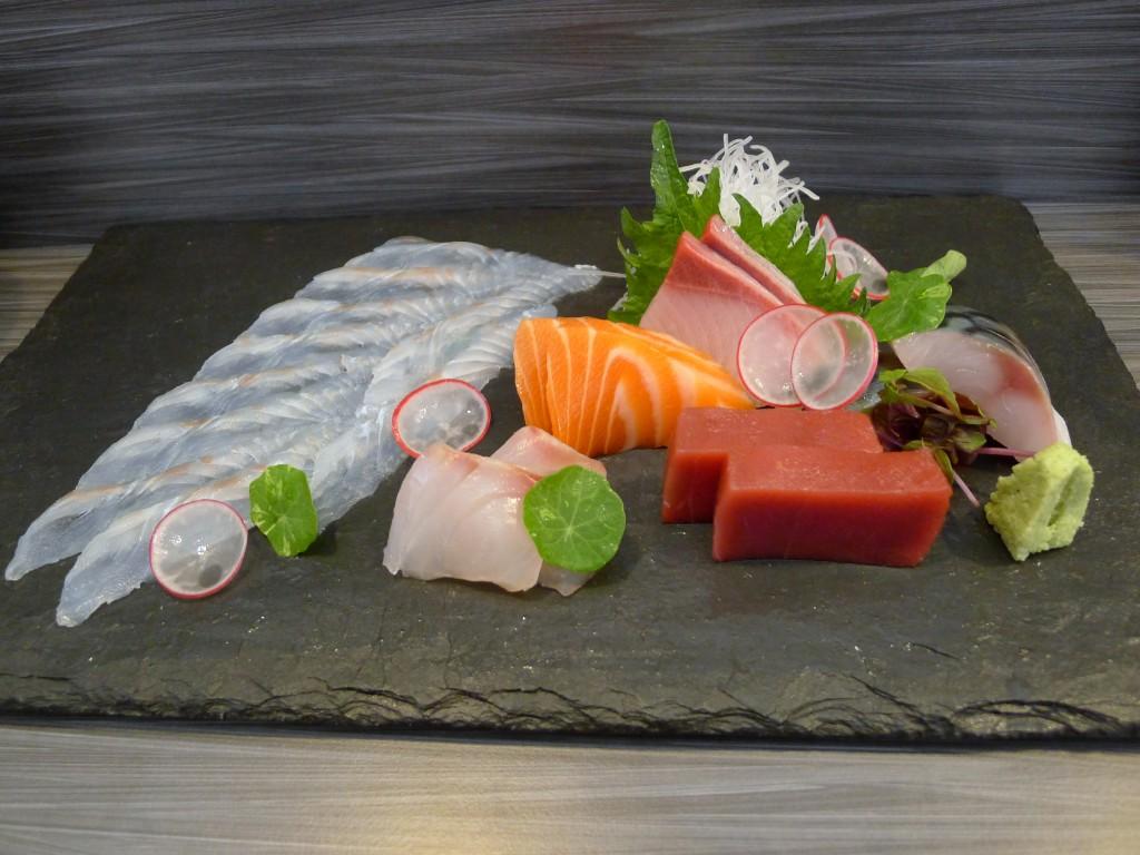 Umu sashimi omakase
