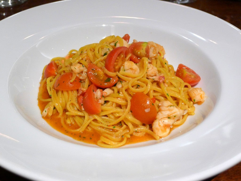 Diciannove lobster spaghettini