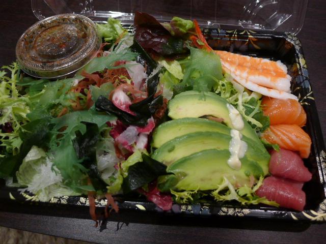 Chisou sashimi salad