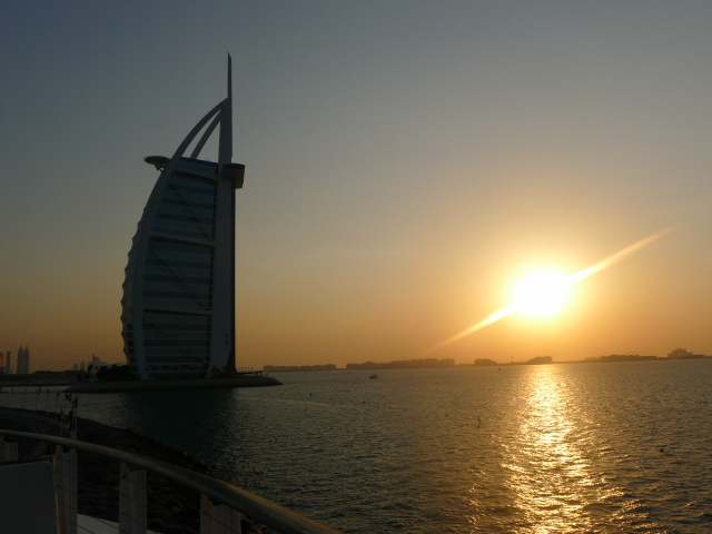 Sunset at 360 Lounge & Bar Dubai