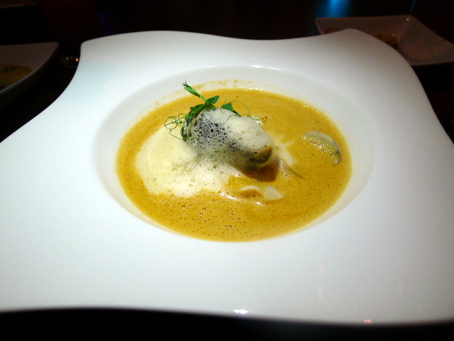 Prawn and lobster bisque