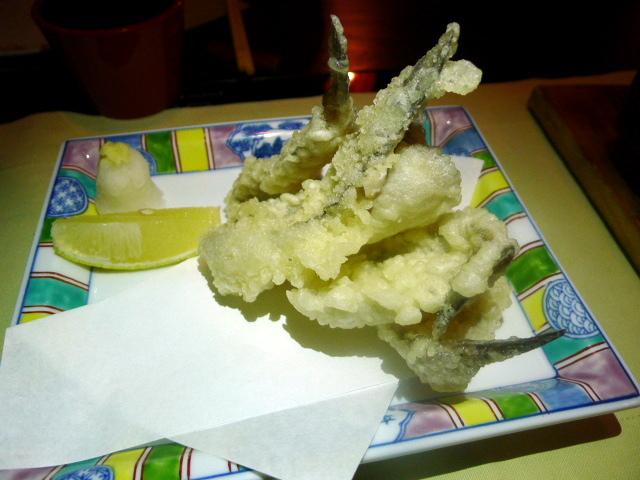 Tomo - goby fish tempura