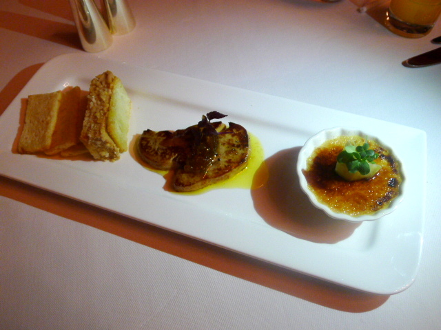 Trio of foie gras