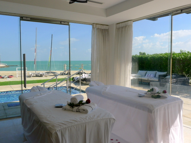 St Regis Doha - Private spa at the cabana