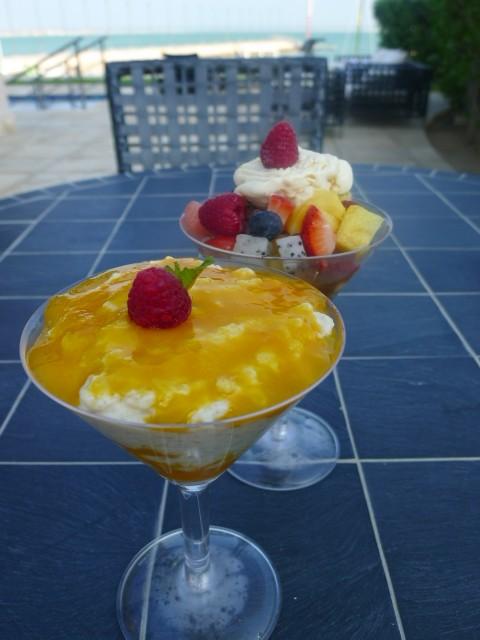 Oyster Bay & Bar desserts
