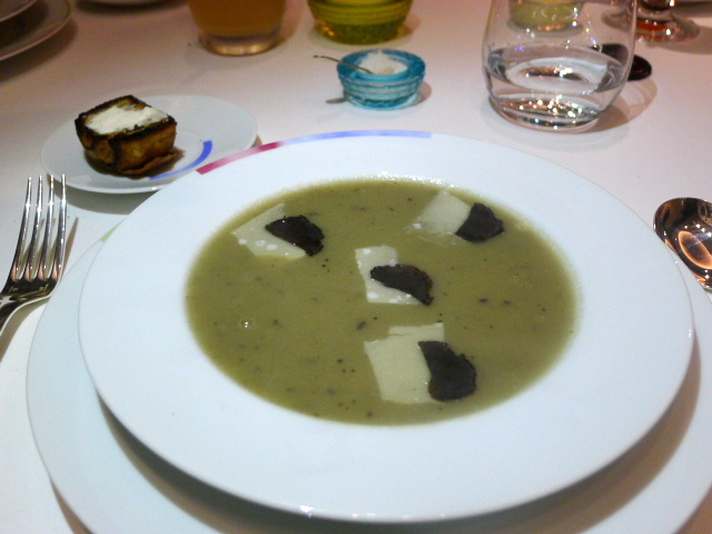 Quisine by Guy Savoy - Artichoke soup