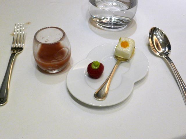 Quisine by Guy Savoy - Pre-desserts