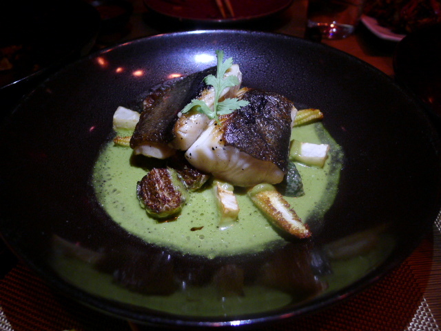 Spice Market - Roasted black cod