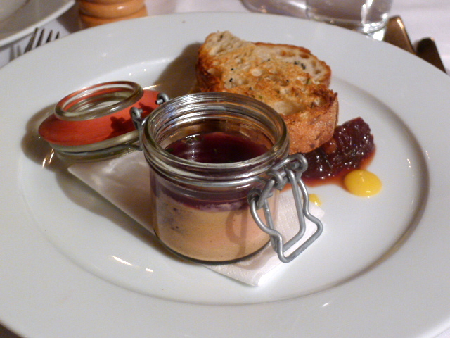 The Thomas Cubitt - Chicken liver parfait