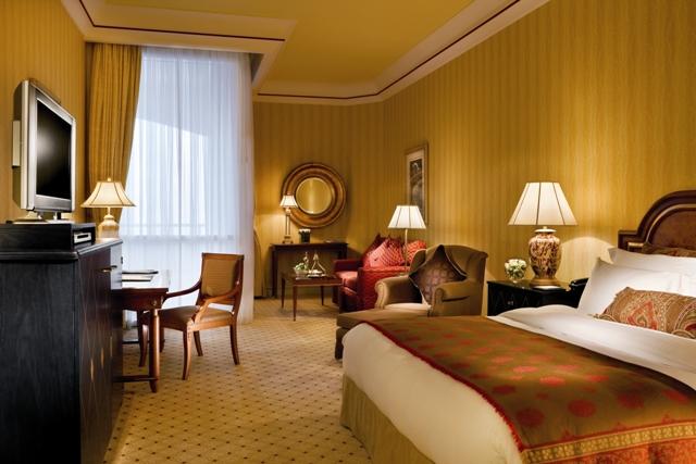 Ritz-Carlton Doha Deluxe room