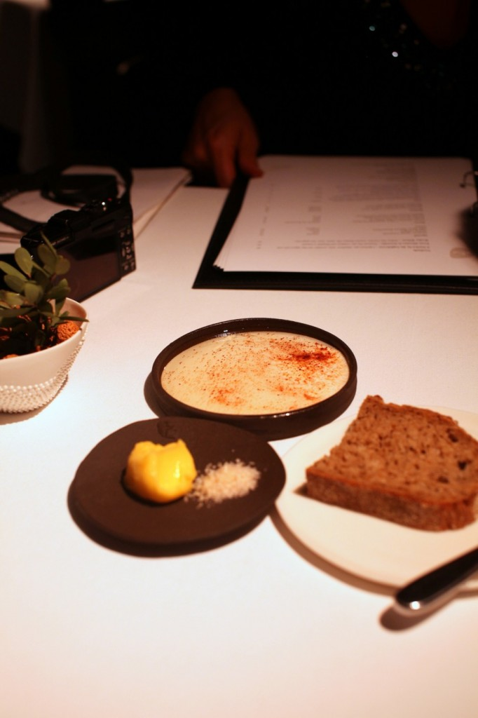 Attica Restaurant - The bread