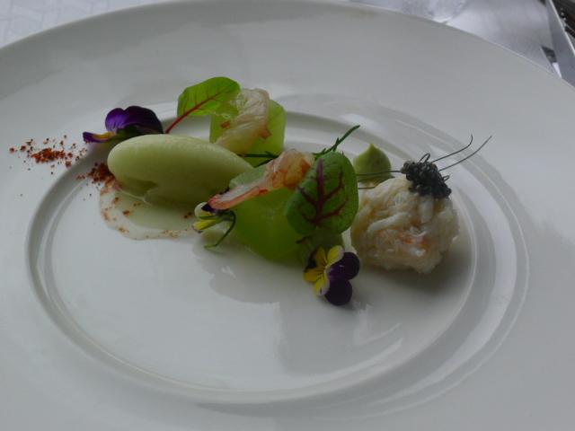 Altitude - prawn sashimi