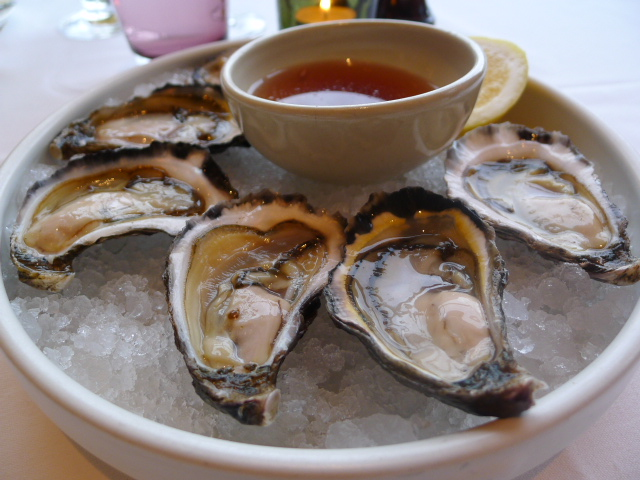 The Dining Room - Sydney rock oysters