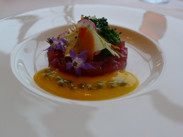 The Dining Room - Blue fin tuna