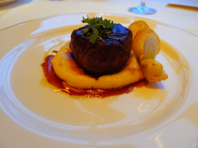 The Dining Room - Beef tenderloin