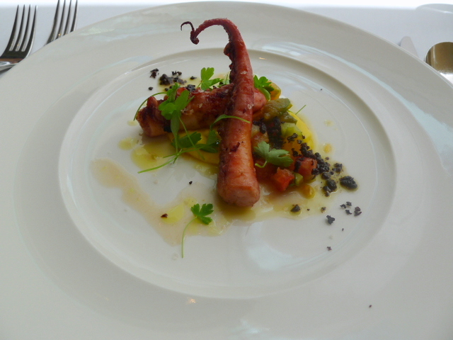 Glass Brasserie - Octopus